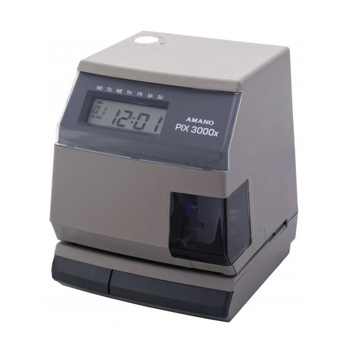 PIX-3000X Side Print Time Clock