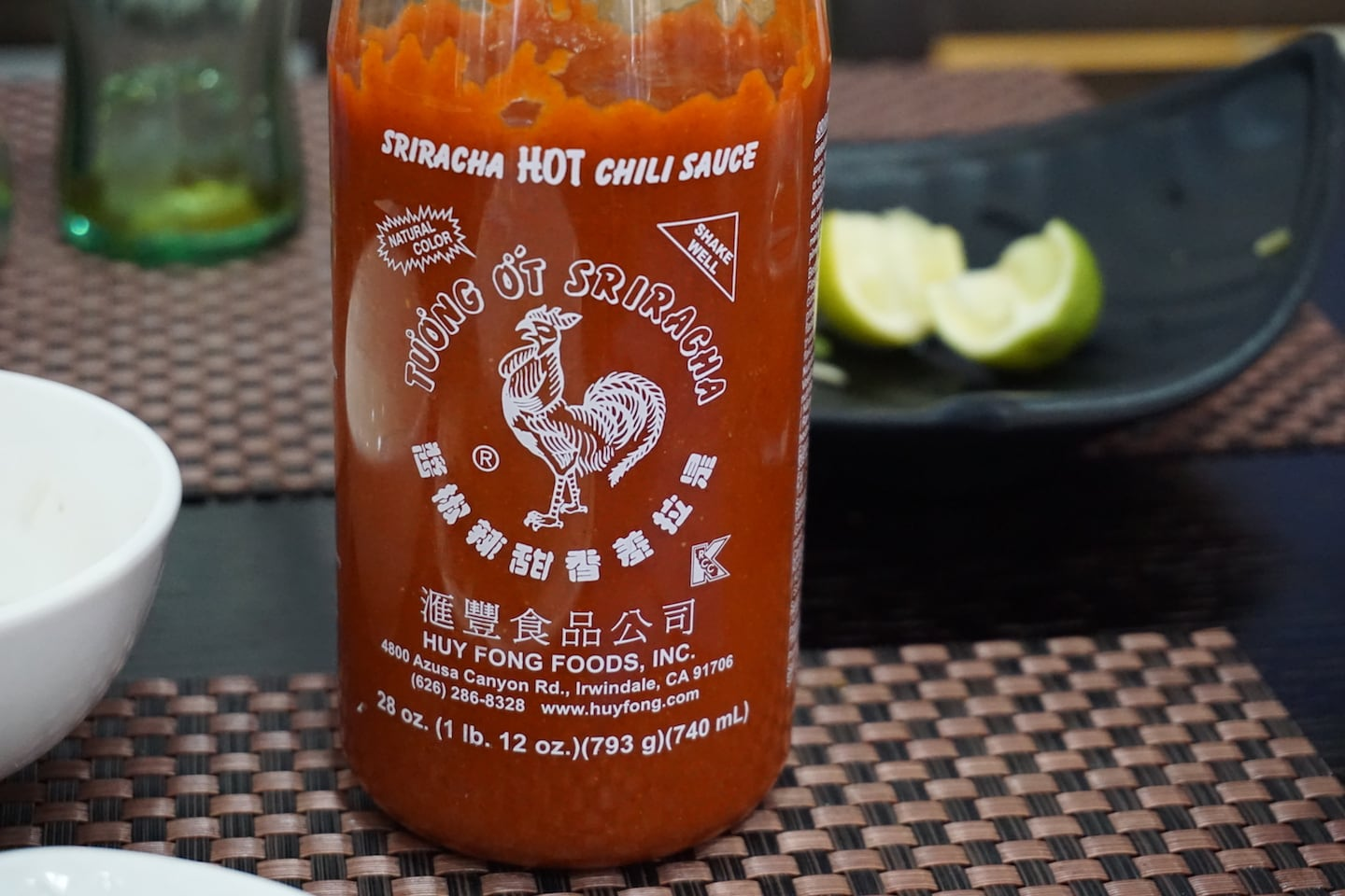 Sriracha Rooster – the real deal
