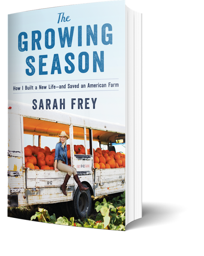 Cover of The Growing Season by Sarah Frey