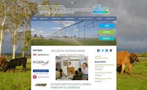 Desktop screenshot of Queensland Rural, Regional & Remote Women's Network