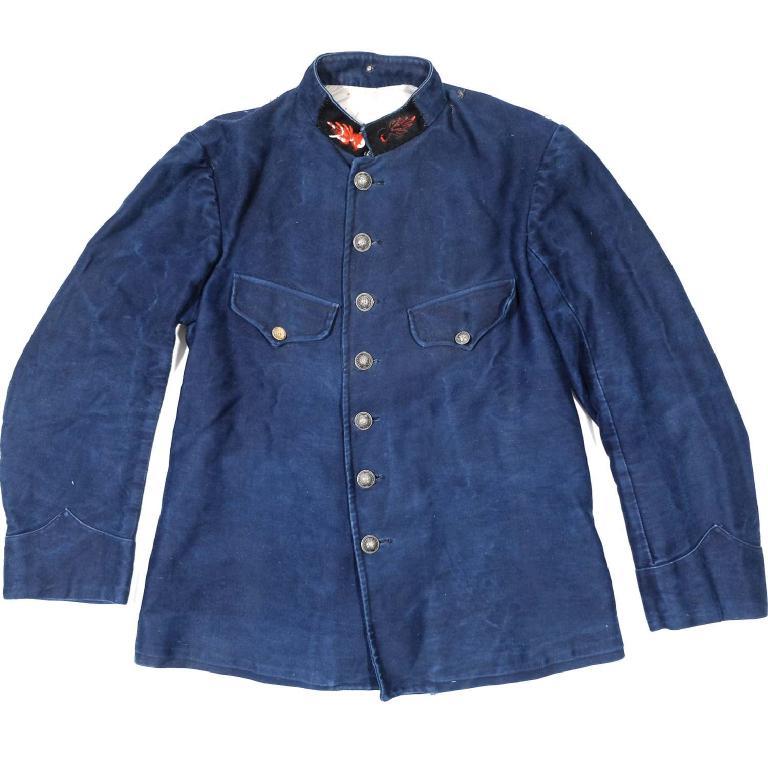 Indigo firefighter jacket