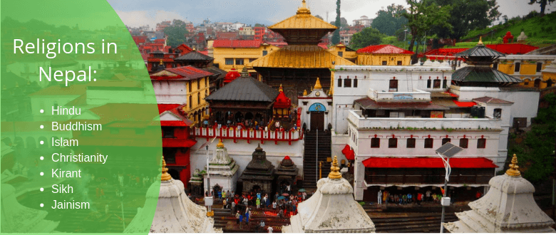 religions followed in Nepal