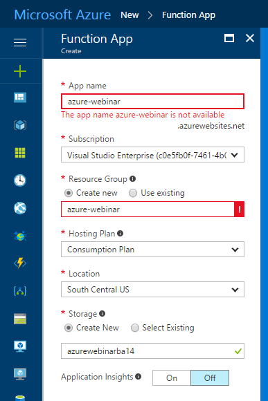 Writing an Azure Function to add an ICS file to your