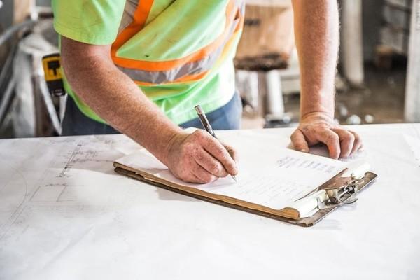 construction site, admin, organisation