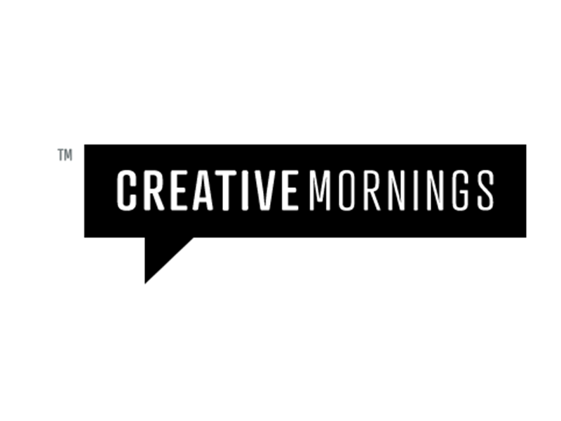 logo for creative mornings