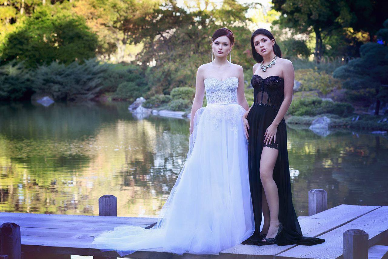 evening and wedding dress designer haute couture montreal