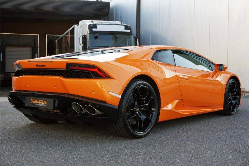 Lamborghini Huracan LP610-4 5.2 V10 Arancio Borealis afbeelding 3