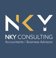 The logo for NKY Consulting, an accounting consultancy firm in Aberdeen