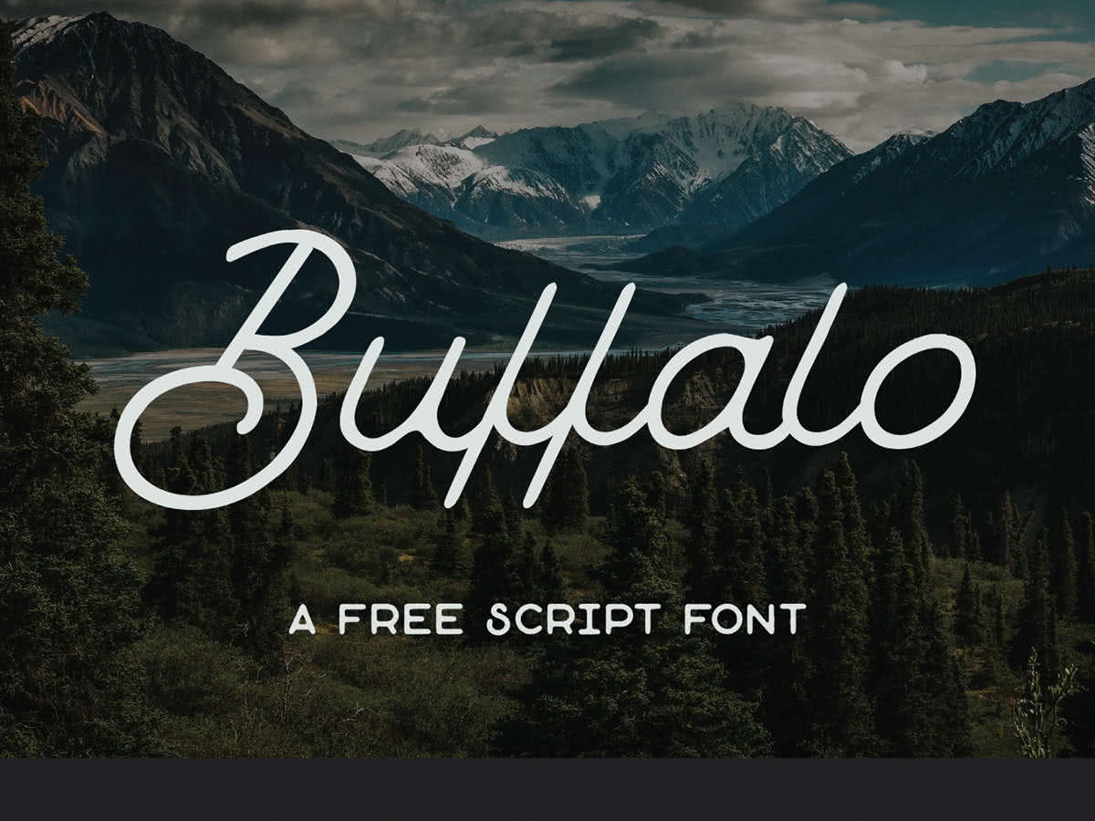 fonte gratuita buffalo