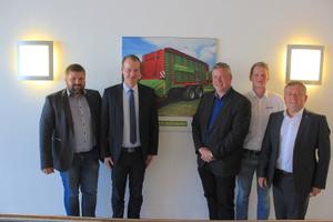 Neue Geschäftsführung von STRAUTMANN besucht die EZ AGRAR in Linz