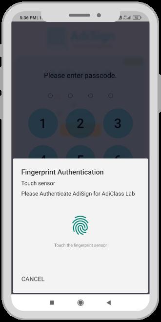 AdiClass_App_Biometrics