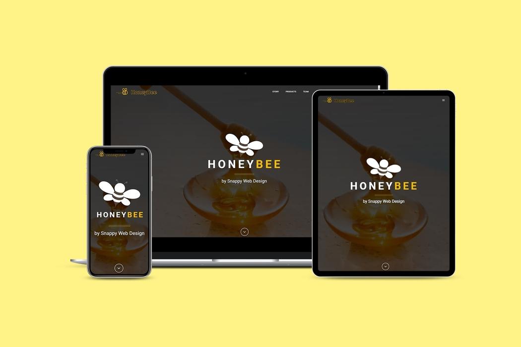 honeybee website theme