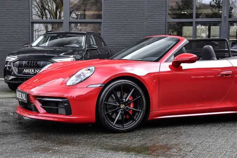 Porsche 911 4S CABRIO SPORTDESIGN+4WSTURING+SPORTCHRONO afbeelding 8