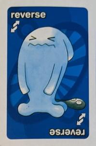 Pokemon (2006) Blue Uno Reverse Card