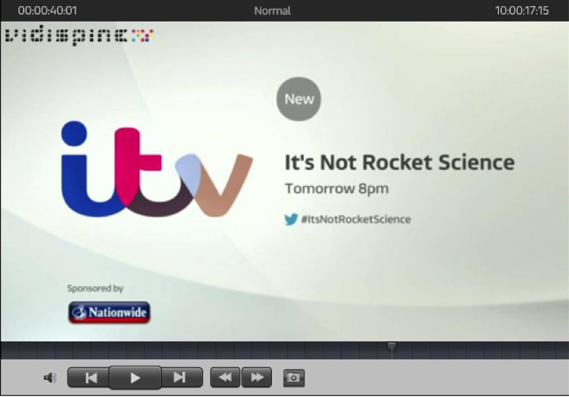 ITV Cantemo Portal Player