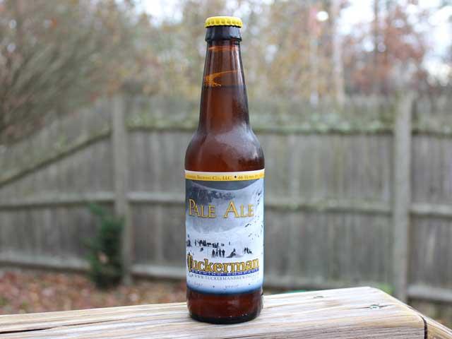 Pale Ale brewed by Tuckerman Brewing Company