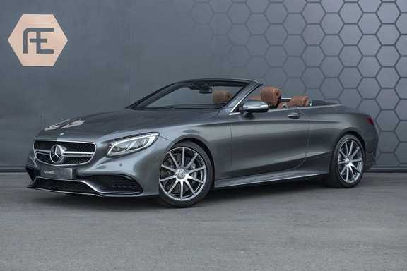 Mercedes-Benz S63 Cabrio 63 AMG 4Matic DISTRONIC + BTW + BURMESTER