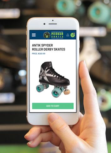 Medusa Skates Phone
