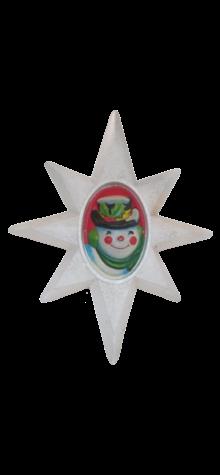 Illuminated Shining Snowman Star photo