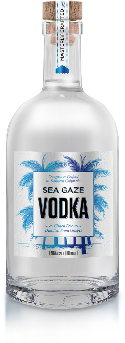 Bottle of Sea Gaze Vodka