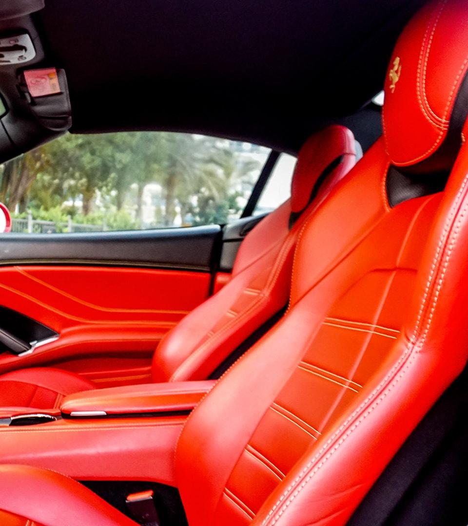 Ferrari california seats