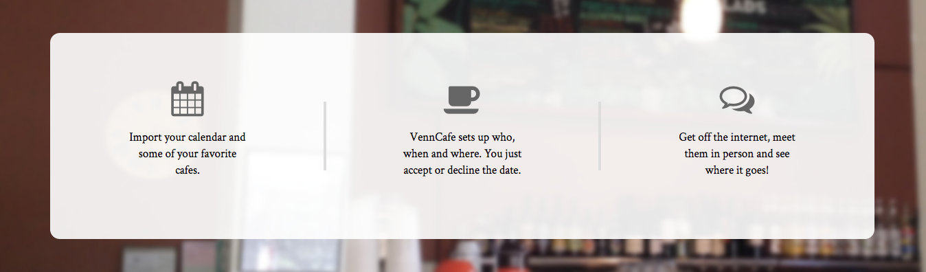 Venncafe home page