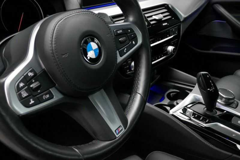BMW 5 Serie Touring 520d High Executive M-sport afbeelding 19