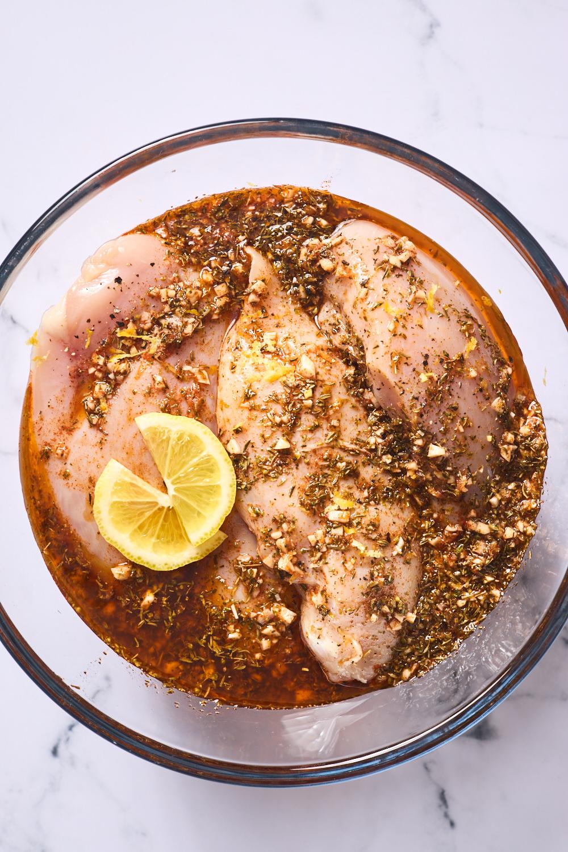 Greek Grilled Chicken Breast