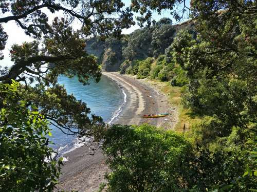 Crater Bay on Browns Island