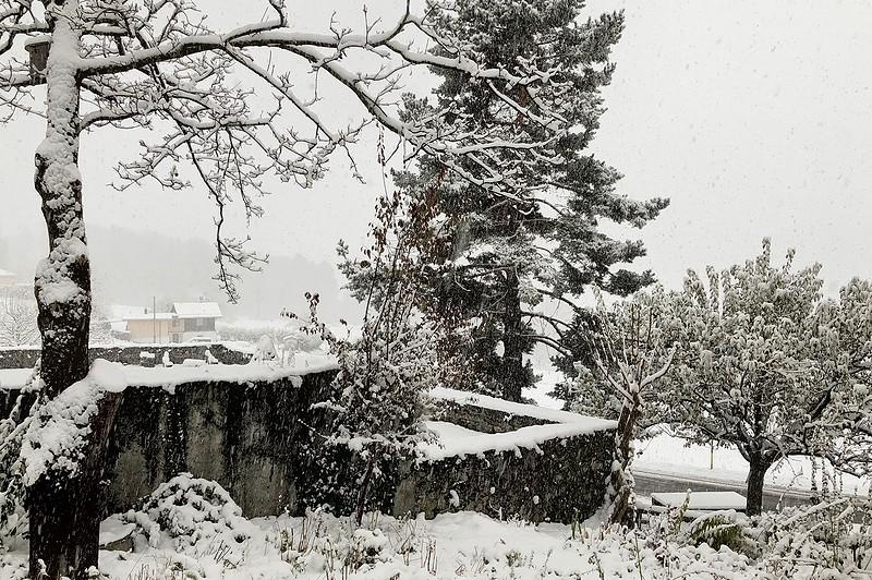 Winterstimmung Almens