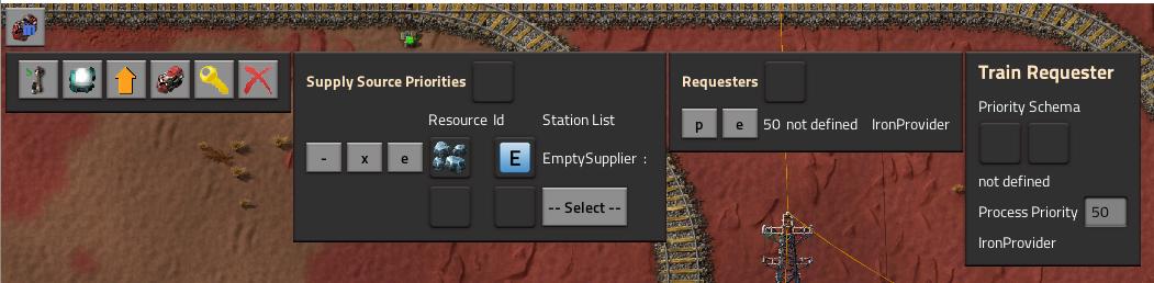 provider train requester