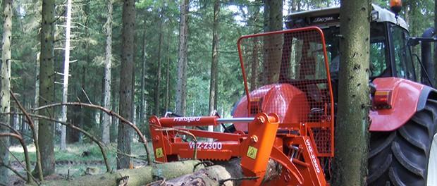 Logging tong