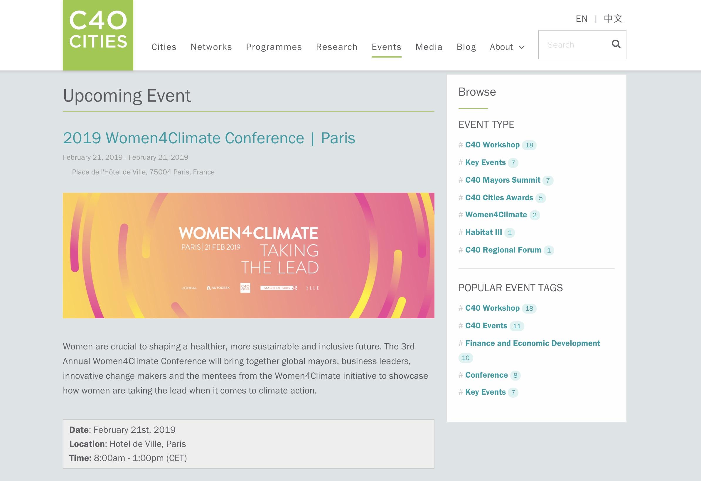 C40 website