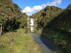 Hunua Falls from the bridge