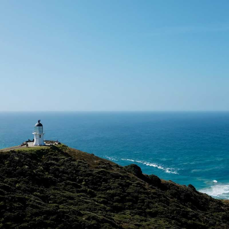 lighthouse in Cape Reinga