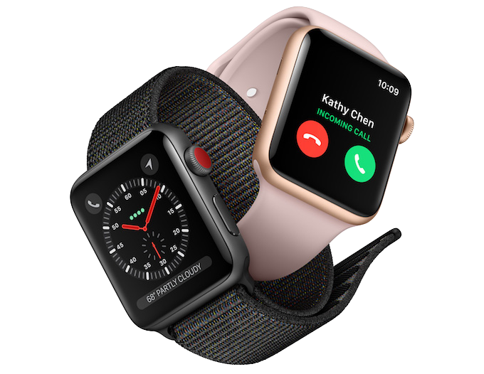 The Series 3 Apple Watch
