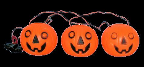 3 Pumpkin Light Set photo