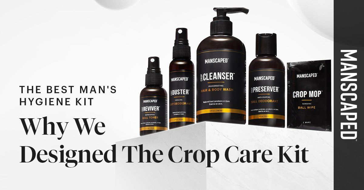 The Best Men's Hygiene Kit - Why We Designed the Crop Care Kit