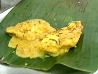 coconut curried fish