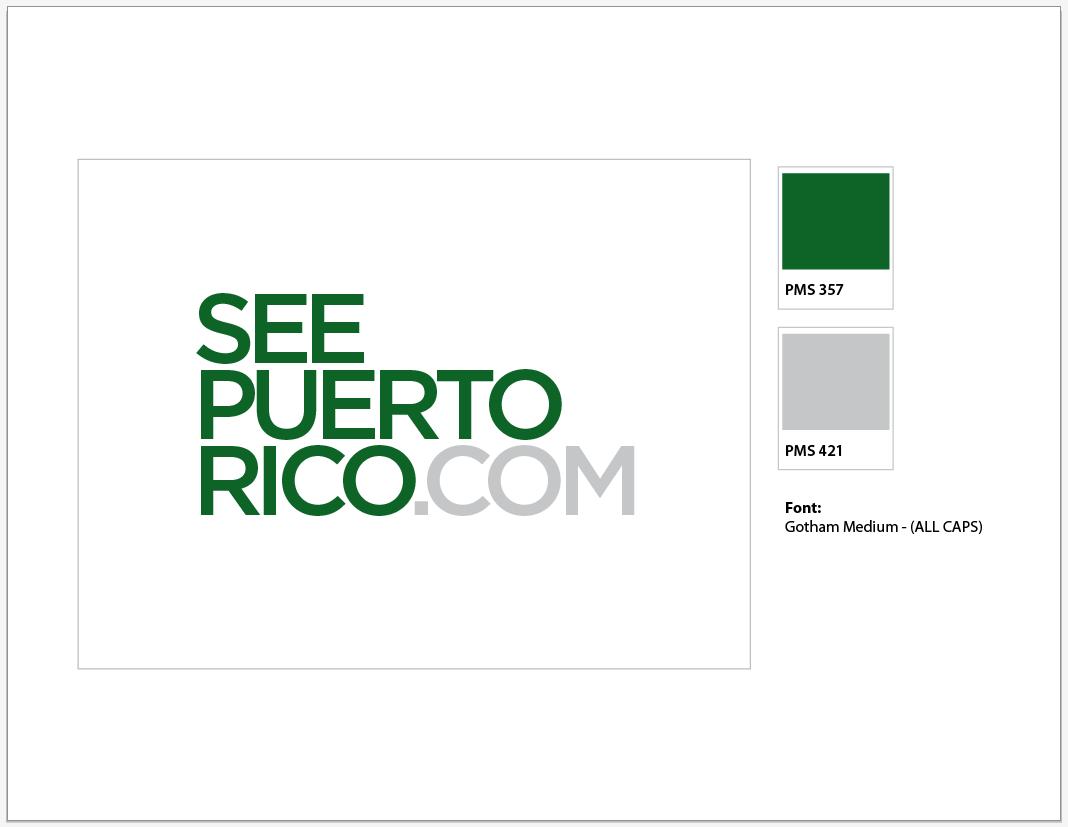 Puerto rico tourism company logo