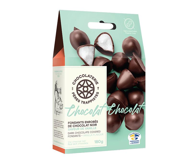 Chocolat Fondants enrobés de chocolat noir - Saveur de vanille