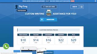 buyessayclub.com main page