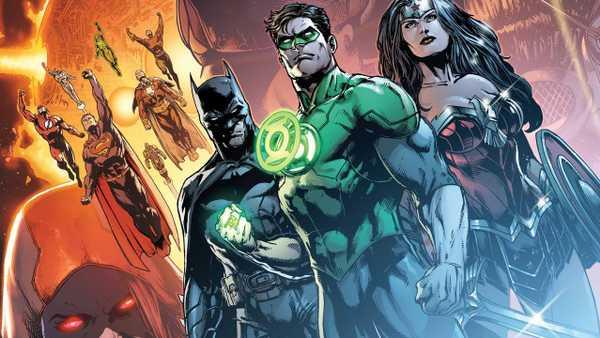 Lanterna Verde, Batman e Mulher-Maravilha em Destaque