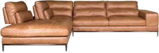 Homingxl Loungebank Titan Chaise Longue Linksleer Cognac 9200000081222450_7 Leer