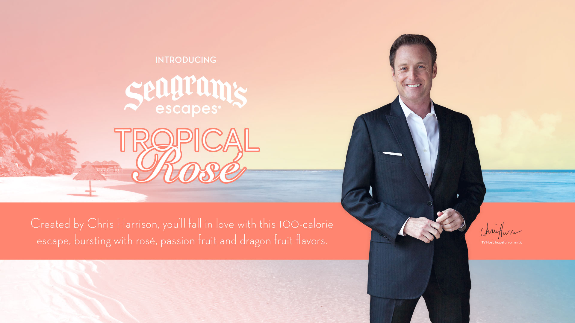 Chris Harrison Tropical Rose
