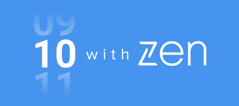 Introducing: 10 with Zen, our new podcast series!