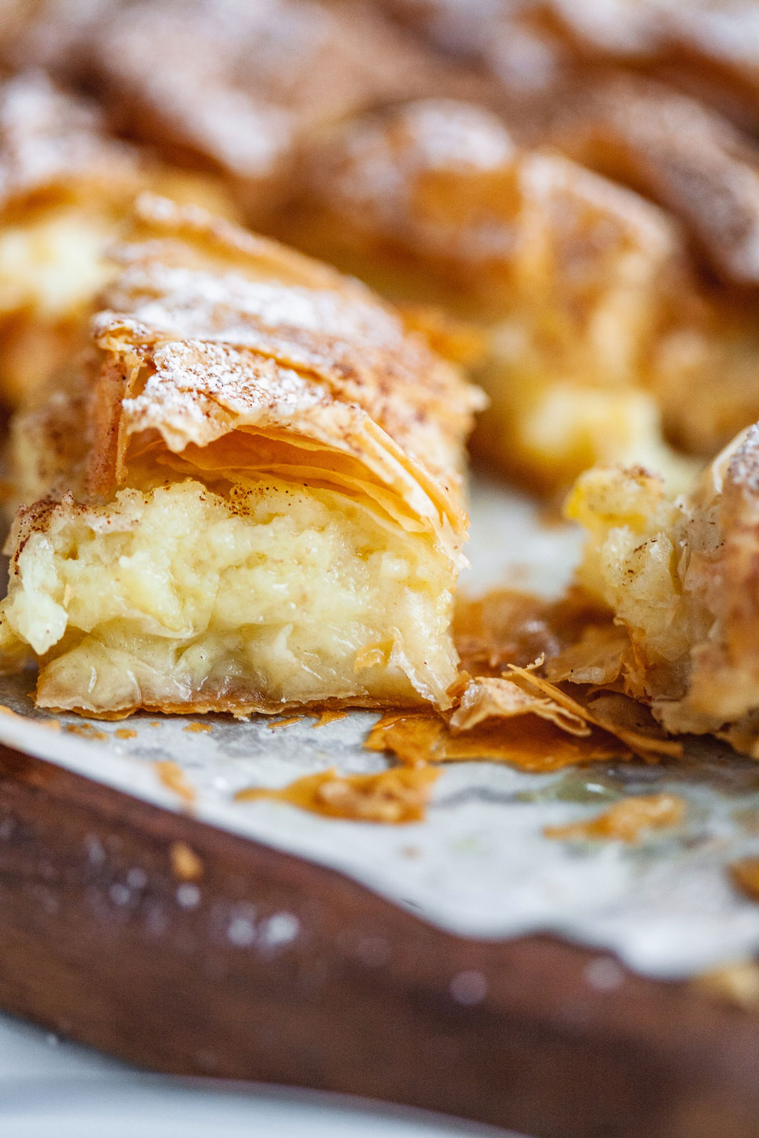 Greek-Style Custard Pastry
