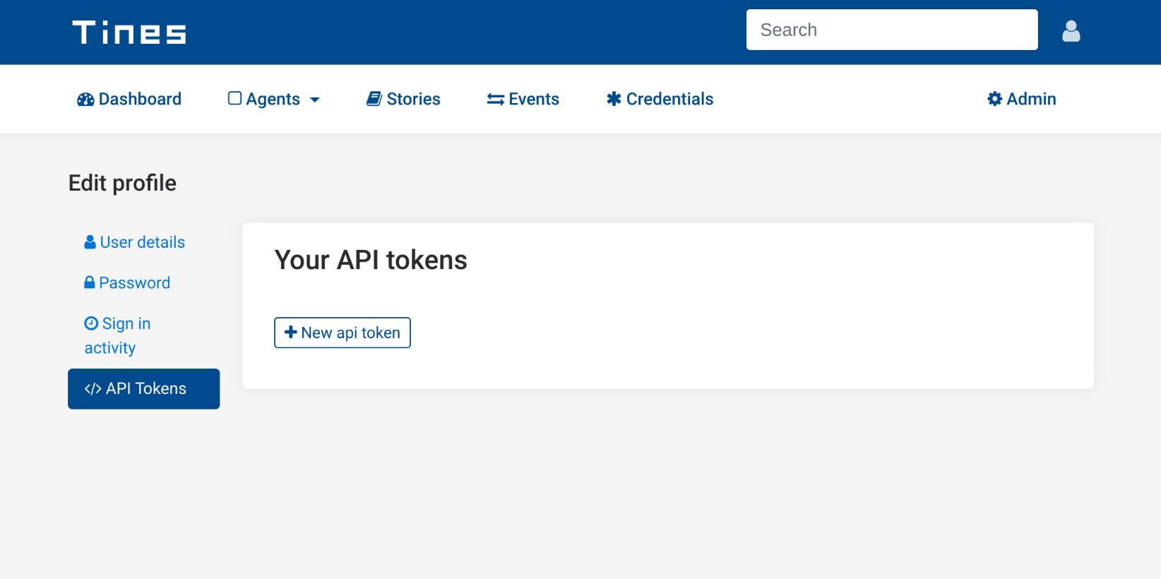 API Tokens