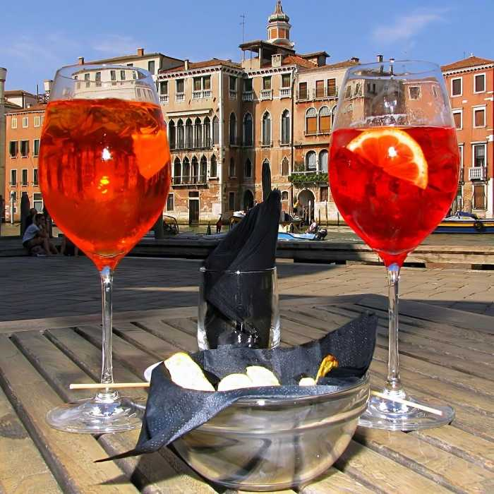 Spritz Veneziano Cocktail
