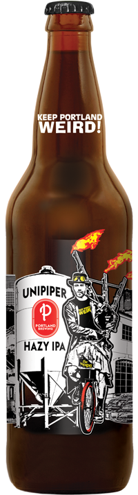 Unipiper Hazy IPA bottle